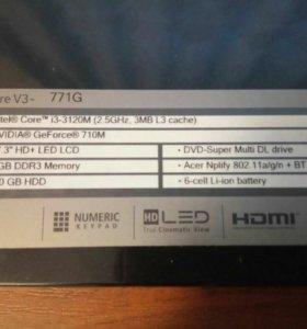 Ноутбук Acer aspire v3 771G