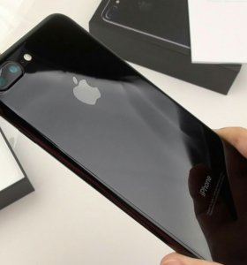 iPhone 7 plus jet black (onyx) 128 GB