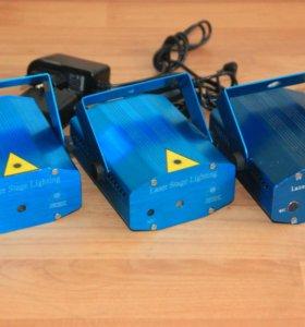 Лазеры китайские простые Б/У