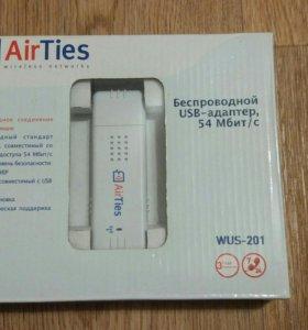 Беспроводной usb адаптер airTies wus-201 54mbit/s