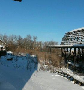 Земельный участок и незавершенное строительством з