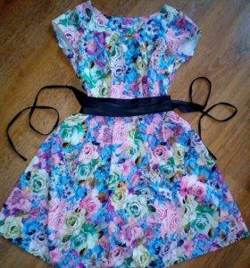Платье + пояс