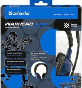 Игровая гарнитура Defender Warhead G-280