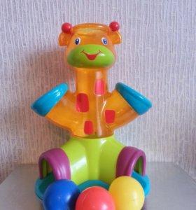 """Развивающая игрушка """"Озорной жираф"""""""