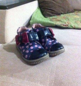 Ботинки на девочку межсезонные