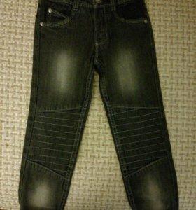 Новые джинсы детские размер 110