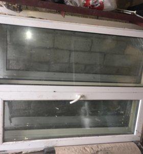 3 пластиковых окна