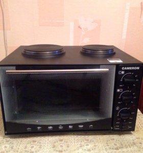Мини-печь с плитой МО-3810