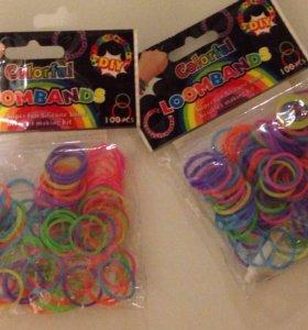 Резинки для плетения браслетиков 2 комплекта