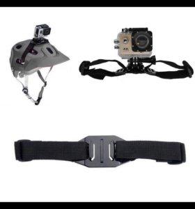 Крепление на шлем для экшн камеры