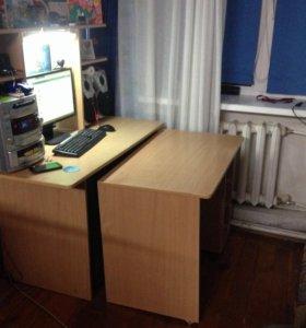 Компьютерный стол 2в1
