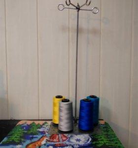 Подставка под нитки для оверлоков и швейных машин.