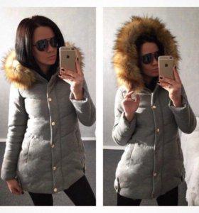 Куртка зима с биркой