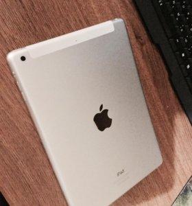Apple iPad Air 32Gb Wi-Fi + Cellular (серебристый)