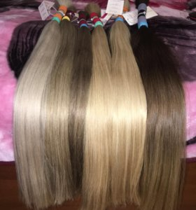 Волосы натуральные славянка