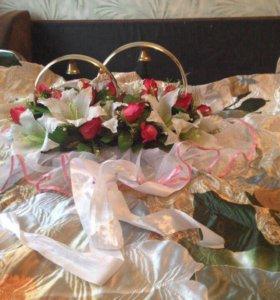 Продажа свадебных украшений на авто