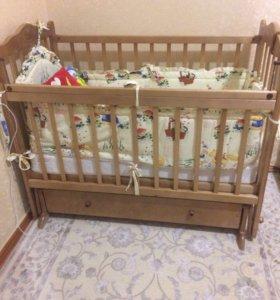 Кроватка детская Наша Мама