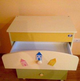 Пеленальный комод и кроватка Sole Pali