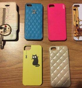 Чехлы для 5 айфона