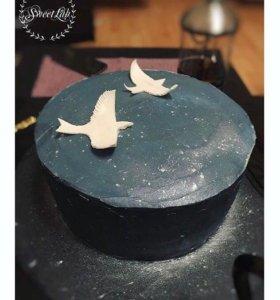 Современные сладости и торты