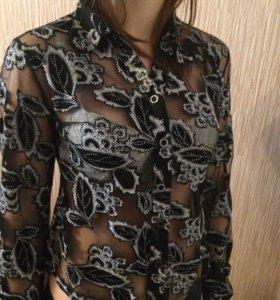 Рубашка прозрачная