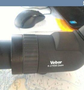 Зрительная труба VIBER 50*9-27 со штативом