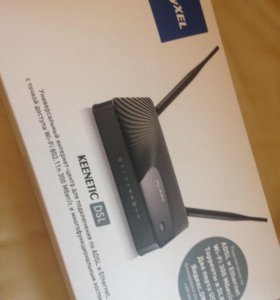 Маршрутизатор ADSL2+ ZyXEL Keenetic DSL