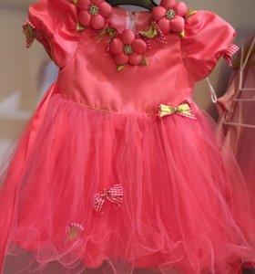 Платье р80