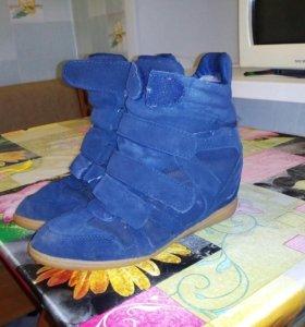 Продам зимние кроссовки сникерсы