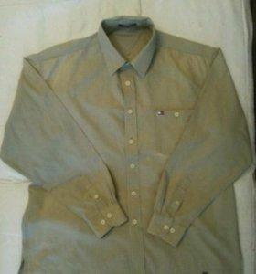 Мужская рубашка Tommy Hilfiger, оригинал
