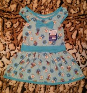 Новое платье на девочку Пчёлка