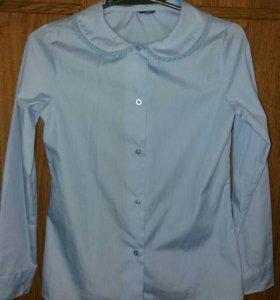 Новая Приятная к телу красивая блузка. До 10 лет.