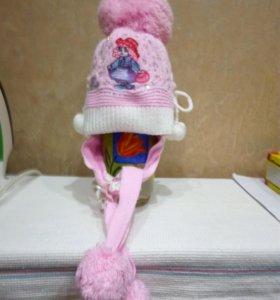 Продам детскую  шапку  весна  осень