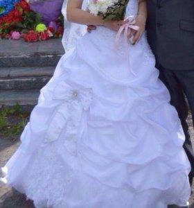 Свадебное платье , не венчанное, после химчистки