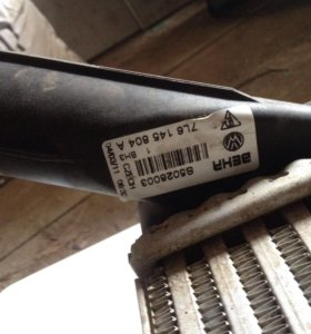 Радиаторы интеркулера на Audi, VW