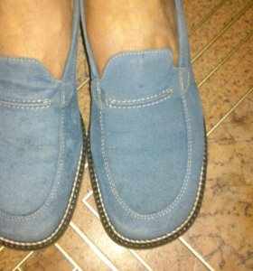 Туфли фирма замша