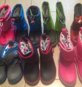 Новые сапоги, сабо, сандали Крокс Crocs. Оригинал!