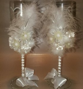 Фужеры свадебные