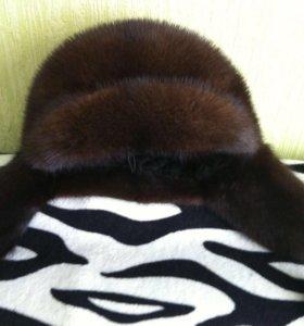Дубленка шапка