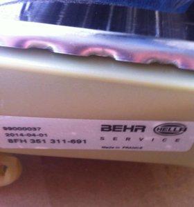 W124 радиатор отопителя