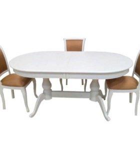 Стол и 4 стула фабрицио!