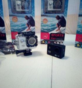 Экшн камера Full HD 1080p (товар новый)