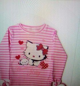 Джемпер для девочек Kitty новый