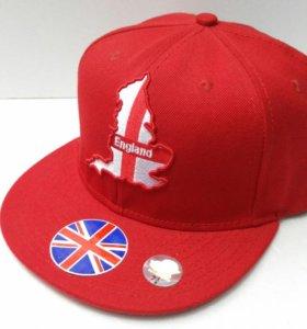 💎 Кепка бейсболка ENGLAND red