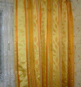 Красивый шторы + подушки