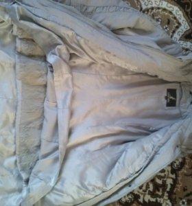 Зимняя куртка-плащ