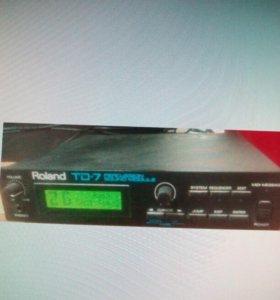 Барабанный модуль TD-7 Roland б/у