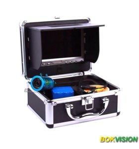 Подводная видеокамера с монитором,12 светодиодов