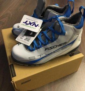 Новые ботинки для беговых лыж