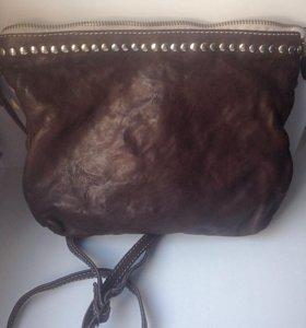 Кожаная сумочка Qvinto Corridoni